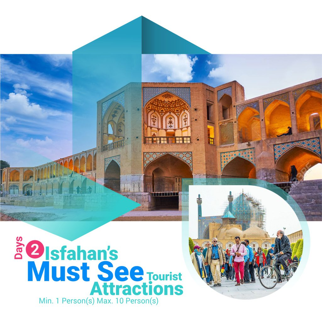 must see attractions in ishafan - isfahan travel guide map