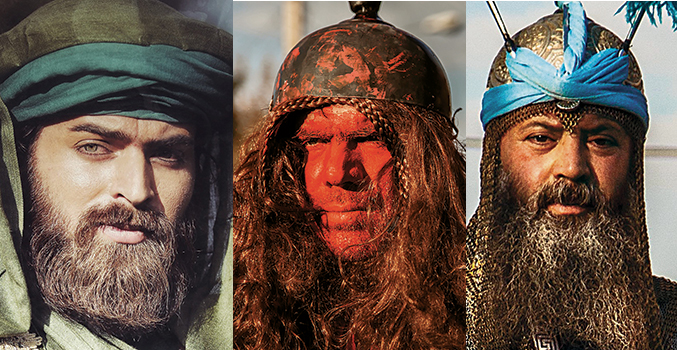 ta'ziyeh ashura characters make up