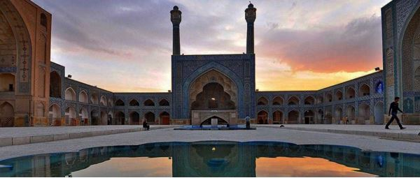 isfahan travel guide map - atiq jome mosque