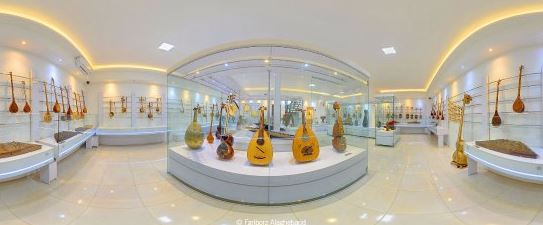isfahan travel guide map - music museum