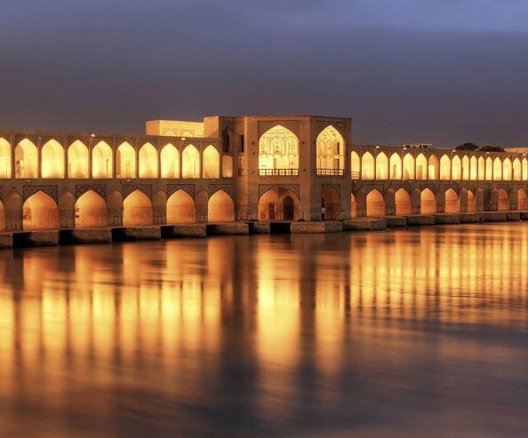 khaju bridge of isfahan attractions