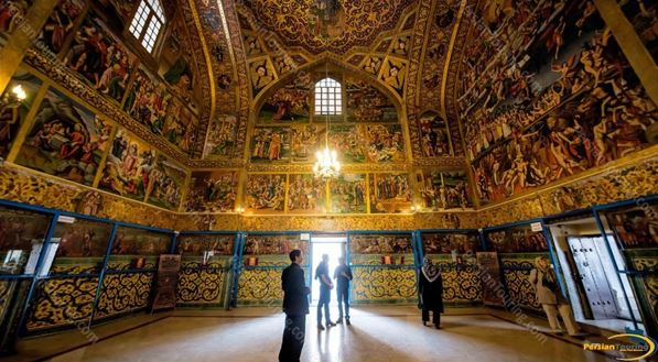 isfahan travel guide map - vank cathedral